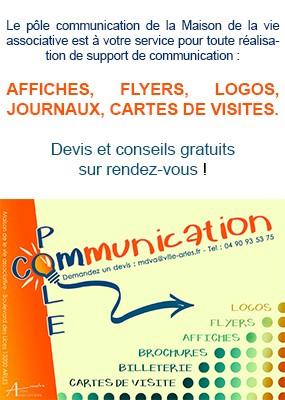 Encart Pole Com Maison De La Vie Associative Arles Associations